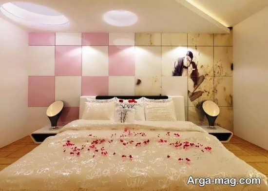 تزئین اتاق خواب عروس با ایده های نو