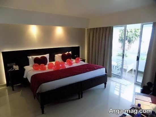 تزئین اتاق خواب عروس با ایده های زیبا