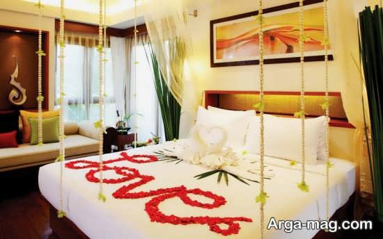 تزئین اتاق خواب عروس با ایده های لاکچری
