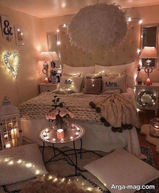 جدیدترین تزئین اتاق خواب عروس