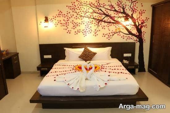 شیک ترین تزئین اتاق خواب عروس