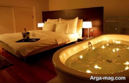 جالب ترین تزئین اتاق خواب عروس