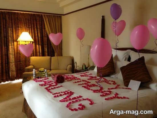 قشنگ ترین تزئین اتاق خواب عروس