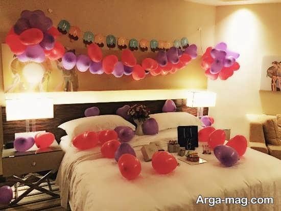 دیزاین خلاقانه اتاق خواب عروس