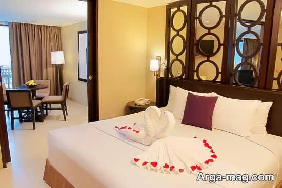 دیزاین ایده آل اتاق خواب عروس