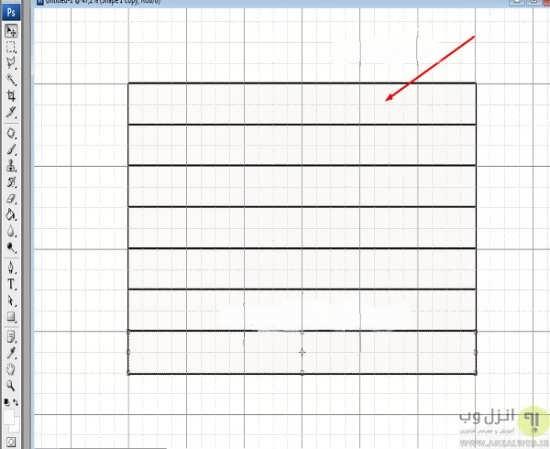 انواع طراحی و کشیدن جدول در فتوشاپ