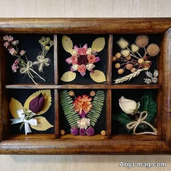 تزیین گل خشک با ایده های زیبا و خاص