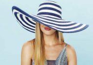 ژست عکس با کلاه دخترانه