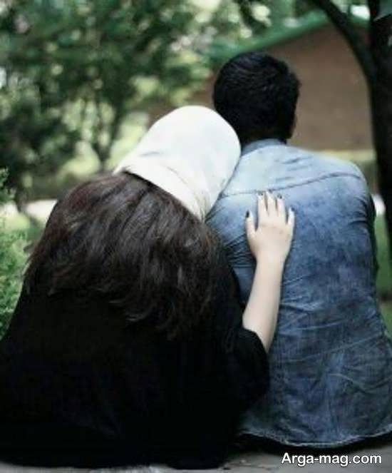 ایده هایی زیبا و بی نظیر از فیگور عکس همسران با هم برای پروفایل