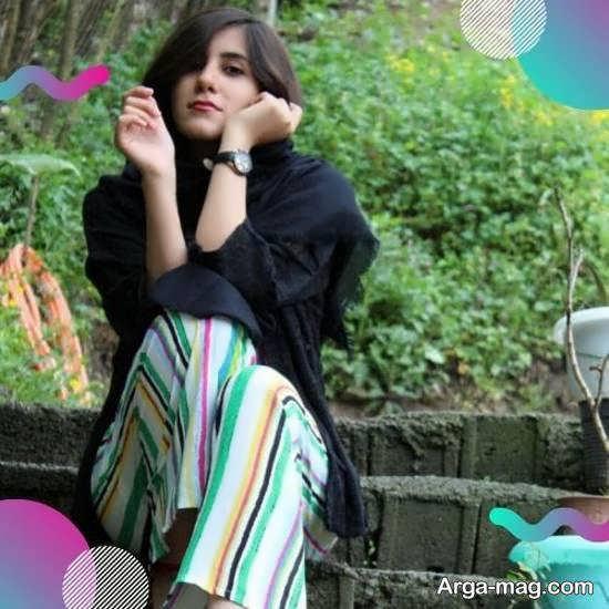 ژست عکس پروفایل زیبا و دخترانه برای تلگرام