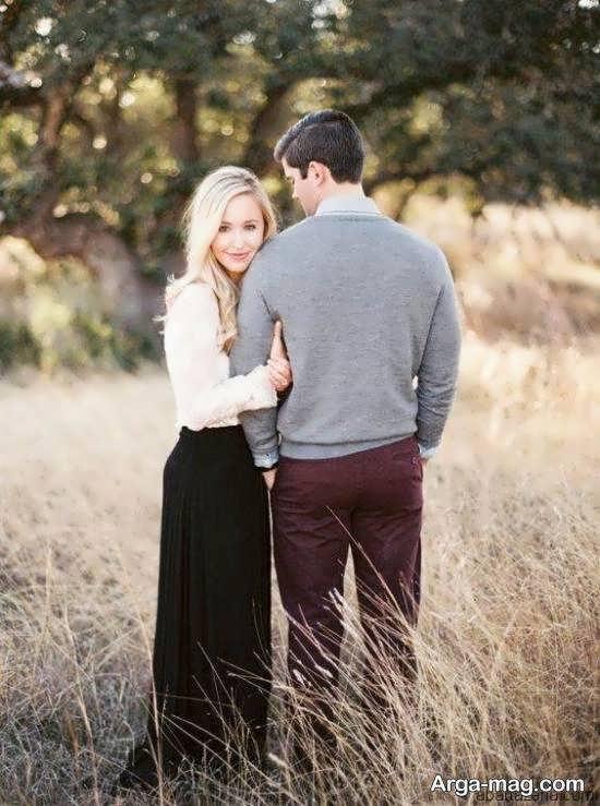 انواع ژست عکس پروفایل عاشقانه دو نفره برای شبکه های مجازی