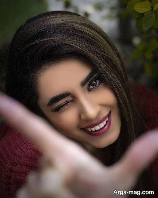 تصاویر جذاب و دلنشین ژست دخترانه برای پروفایل