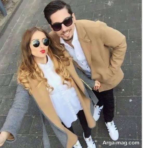 کلکسیون شیک و باکلاس ژست دونفره همسر برای تصویر پروفایل
