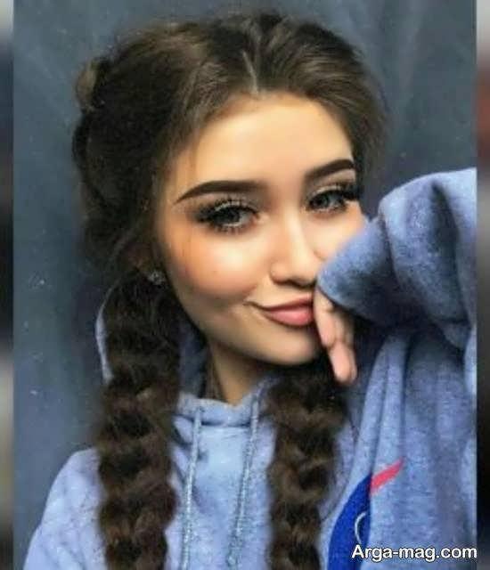 زست های زیبا و دوست داشتنی دخترانه برای تصویر پروفایل