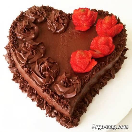 دیزاین جالب کیک قلبی