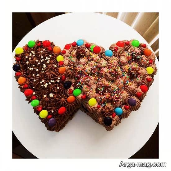 دیزاین کیک قلبی با روشی متفاوت و خاص