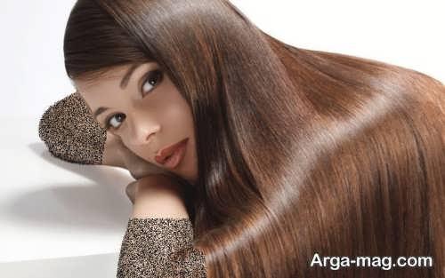 رنگ مو دخترانه عسلی نسکافه ای