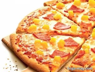 دستور تهیه پیتزا هاوایی