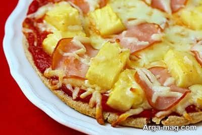 طرز تهیه پیتزا هاوایی با طعم عالی