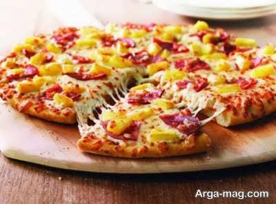 روش تهیه پیتزا هاوایی