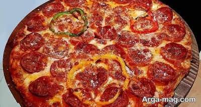 طرز تهیه پیتزا فوری با طعم دلپذیر