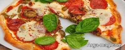 روش پخت پیتزا گوجه فرنگی