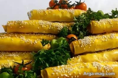 دستور تهیه بورک سبزیجات