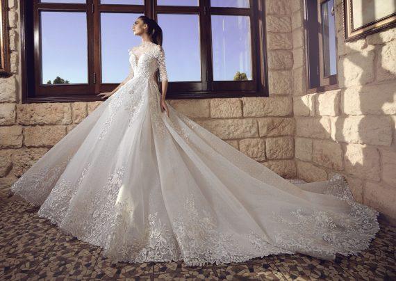 مدل لباس عروس لبنانی