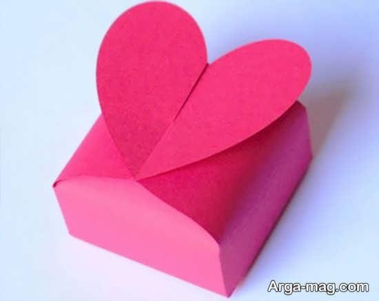 ساخت قلب با کاغذ