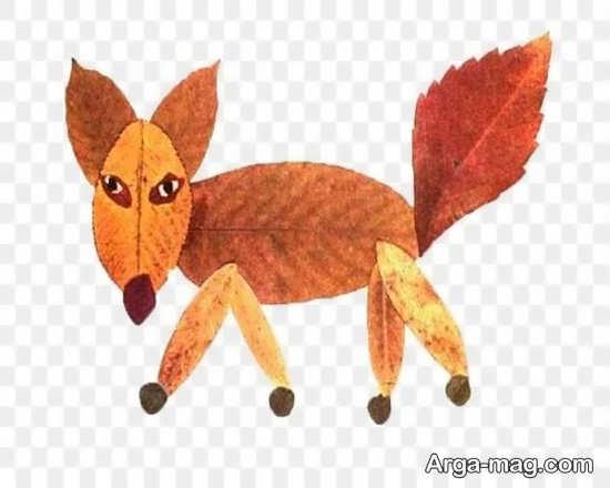 جدیدترین کاردستی حیوان روباه