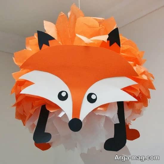 بامزه ترین کاردستی حیوان روباه