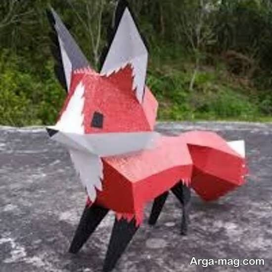 ساخت کاردستی حیوان روباه با ایده های جدید