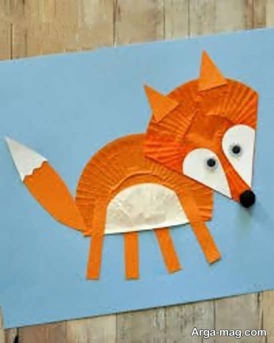 ساخت کاردستی حیوان روباه با ایده های خاص