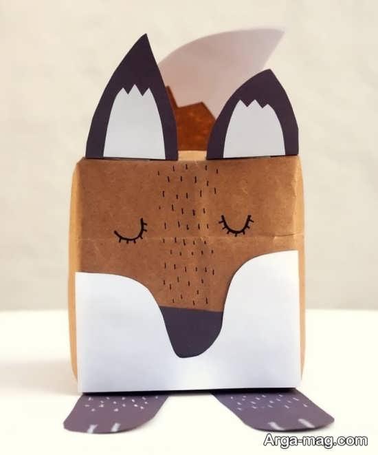 ساخت کاردستی حیوان روباه با ایده های باحال
