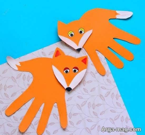 ساخت کاردستی حیوان روباه با ایده های بامزه