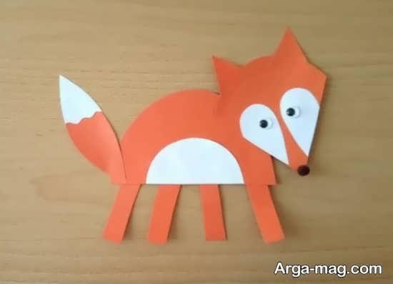 ساخت کاردستی حیوان روباه با ایده های هنرمندانه