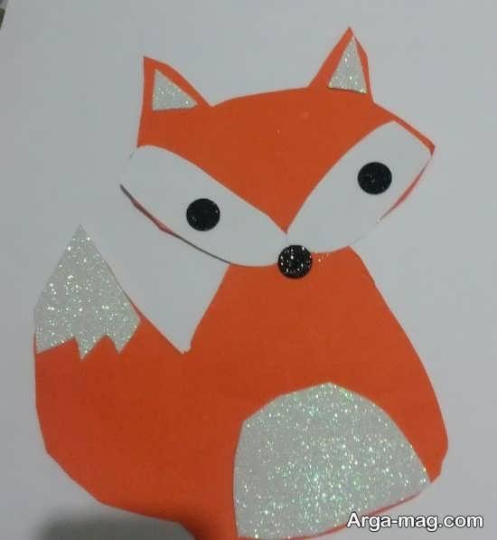ساخت کاردستی حیوان روباه با ایده های منحصر به فرد