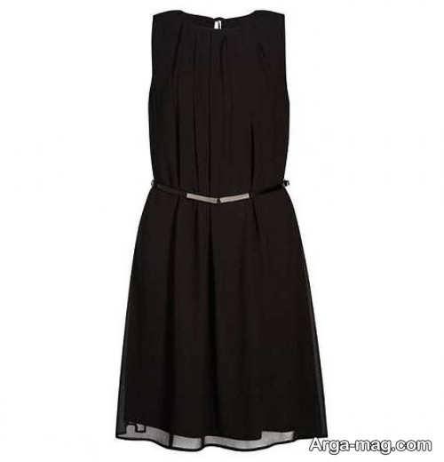 لباس مجلسی کوتاه و رنگ تیره