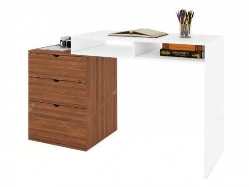 مدل میز تحریر دو رنگ