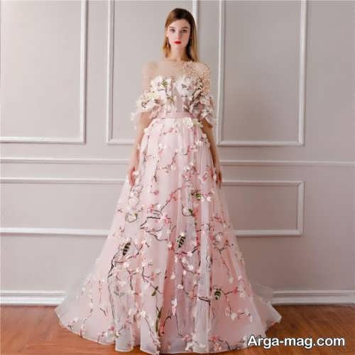 لباس مجلسی دخترانه و بلند
