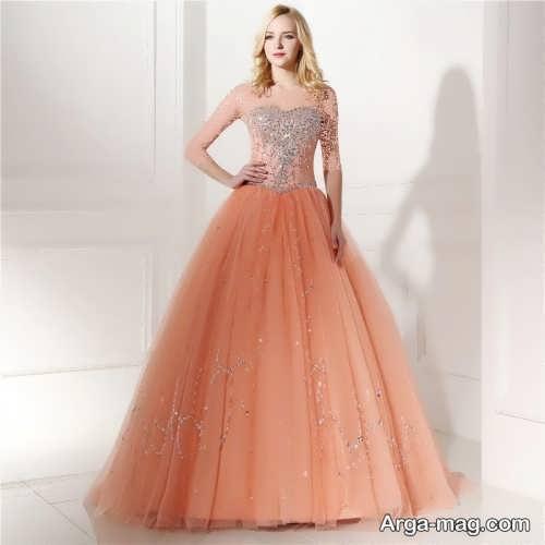 مدل لباس مجلسی زیبا و بلند