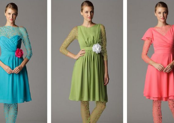 مدل لباس مجلسی رنگ روشن