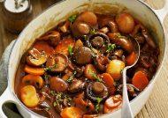 طرز تهیه خورش قارچ