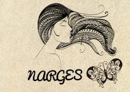 انواع عکس پروفایل اسم نرگس به زیباترین روش ها