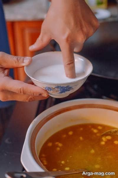 دستور تهیه سوپ مرغ