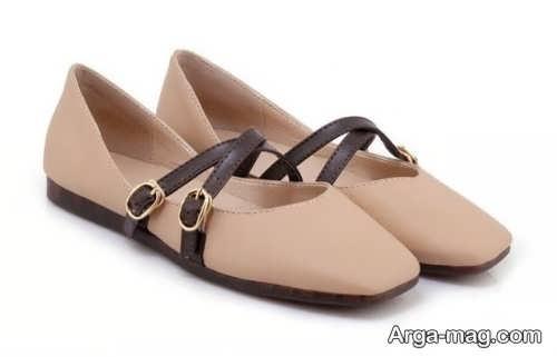 کفش اداری رنگ روشن