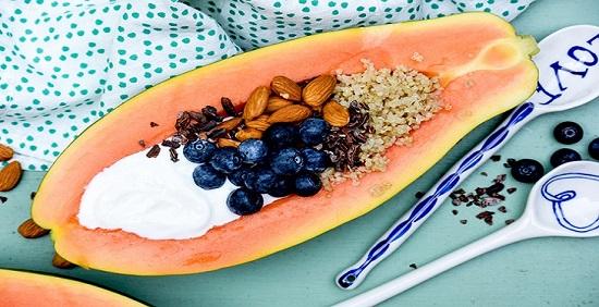 استفاده از میوه پاپایا در وعده صبحانه