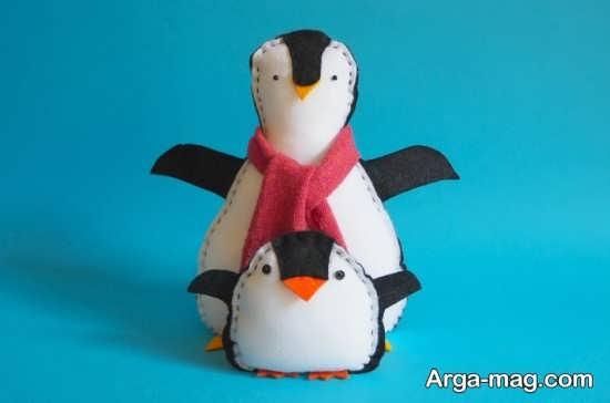 کاردستی خاص به شکل پنگوئن