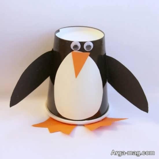 کاردستی پنگوئن