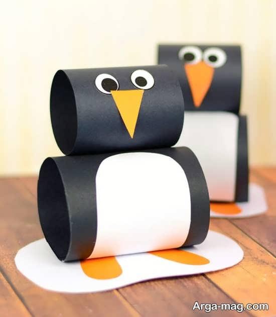 ایده های جالب برای ساخت پنگوئن